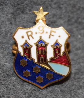 RGF, Randers gymnastiske Forening, urheiluseura, 5 tähteä + pohjantähti