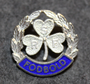 RSF Fodbold, football pin, 925 silver