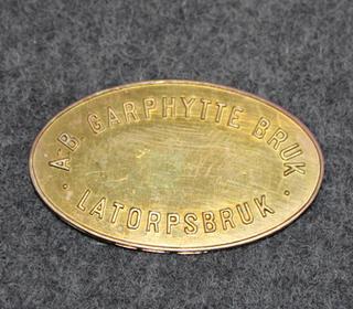 AB Garphytte Bruk Latorpsbruk