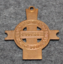 Lundbymarchen, commemorative pendant of 3rd of july 1864 battle, brass / copper
