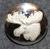 Hirvenpää, ruotsin metsästäjäinliitto. 25mm, vanha malli