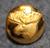 Hirvenpää, ruotsin metsästäjäinliitto. 13mm, vanha malli, gilt
