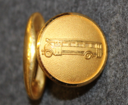 Bus driver, swedish, pre 1967. Gilt