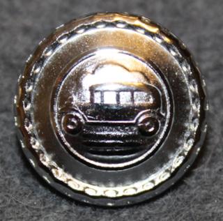 Autonkuljettaja / kuski, ruotsalainen, vanha kuva, 17mm, nikkeli