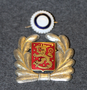 Finnish Police, cap badge LAST IN STOCK
