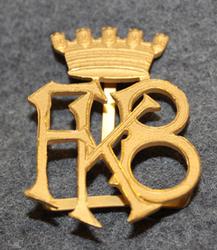 Fellingsbro Köpings Brandkår. Firebrigade shoulder insignia.