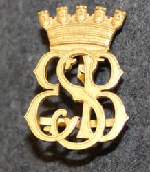 Eskilstuna Stads Brandkår. Firebrigade shoulder insignia.