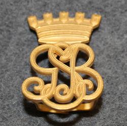 Göteborg Stads Brandkår. Firebrigade shoulder insignia.
