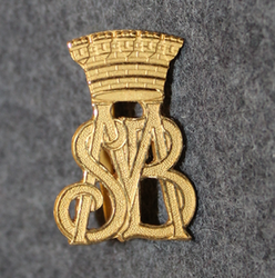 Malmö Stads Brandkår. Firebrigade shoulder insignia.