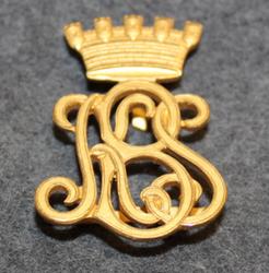 Karlstads Brandkår. Firebrigade shoulder insignia.