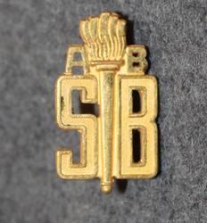 AB Sjuntorps Brandkår. Factory Firebrigade shoulder insignia. LAST IN STOCK