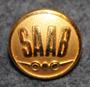 Saab, Svenska Aeroplan AB, car and airplane manufacturer, early type, 13mm gilt