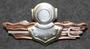 Finnish Navy Combat Diver badge. 3rd class