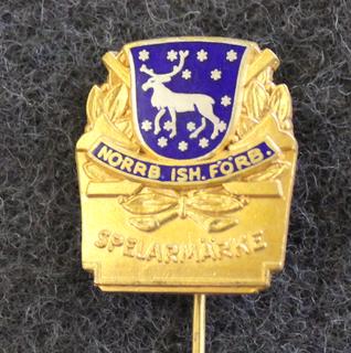 Norrbottens Ishockeyförbund, Spelarmärke, pelaajamerkki, Hopeinen