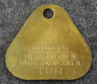 Gränges Metalverken, Västeråsverken. TUR