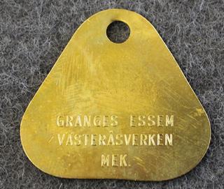 Gränges Essem, Västeråsverken. MEK