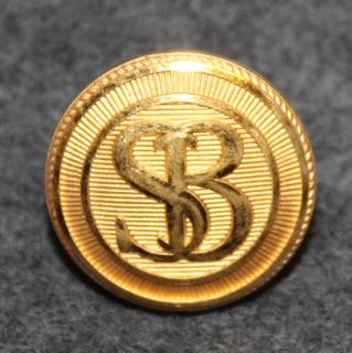 Skandinaviska Banken, SB. Liikepankki, 15mm kullattu