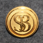Skandinaviska Banken, SB. Bank, 15mm gilt