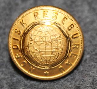 Nordisk Resebureau, matkatoimisto, 13mm kullattu, v2