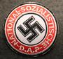 NSDAP, 60mm ommeltava kangasmerkki