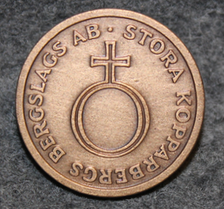 Stora Kopparbergs Bergslags AB < 1984. 25mm