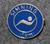 Simning 1km,  Svenska Livräddningssällskapet. Uimamerkki, ruotsin hengenpelastusseura