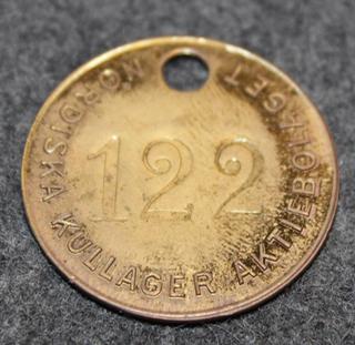 Nordiska Kullager AB, 1915-1921, laakereiden valmistaja
