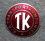 A.-B. Transportkompaniet TK, drivers cap badge