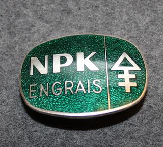 AB Förenade superfosfatfabriker, NPK Engrais, Landskrona. Lakkimerkki
