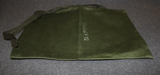 Välinepussi, Ruotsin armeija, 19x28cm
