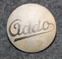 AB Addo, office machinery manufacturer, 24mm, old type.