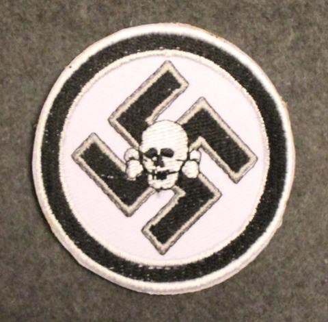 Waffen SS Danzig, ommeltava kangasmerkki