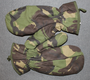 MK2 Arctic Inner mittens DPM, UK army. Trigger / smartphone finger.