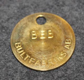 Bultfabriks AB, BEB, pulttien valmistaja