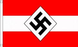 WW2 lippu: Hitler Jugend 150x90cm