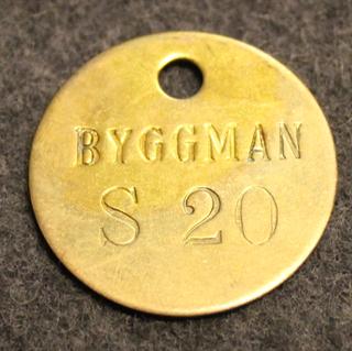 Maskin Ab Byggman, Mariehäll, työkaluprikka 1959