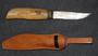 Finnish Army, Fiskars Knife with Sheath. SA stamps. Issued