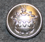 Halmstads kommun. Swedish municipality, 14mm, Nickel