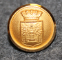 Haparanda kommun. Swedish municipality, 13mm gilt
