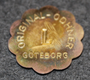 Original-Odhner Göteborg L, calculator manufacturer, lunch coin
