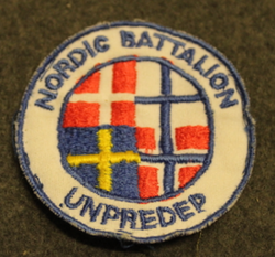 Rauhanturvaajamerkki, Nordic Battalion, United Nations Preventive Deployment Force, UNPREDEP