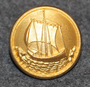 Hjo kommun. Swedish municipality, 24mm gilt