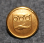 Häverö landskommun. Abolished Swedish municipality, 14mm gilt