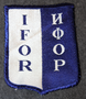 IFOR, Implementation Force, Bosnia-Hertzegovina patch