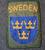 Rauhanturvaajamerkki, Sweden.