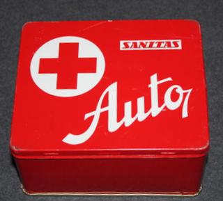 Ensiapulaatikko, Sanitas Auto, Tsekkoslovakialainen 1970-80 luku, TYHJÄ
