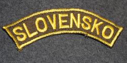 Slovakia, Army patch, Slovensko.