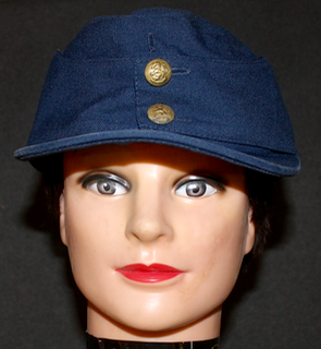Finnish Airforce M/36 field cap. Original, issued