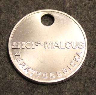 SKF Malcus, Verktygsbricka. Työkalupoletti