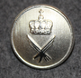 Luftforsvaret, norwegian air force, 23mm , narrow crown, nickel